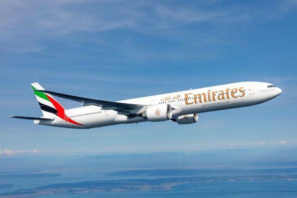 společnost Emirates Boeing 777 300ER