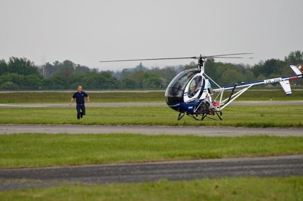 Helicopter Show 2017 Dan Tuček vrtulník Hughes