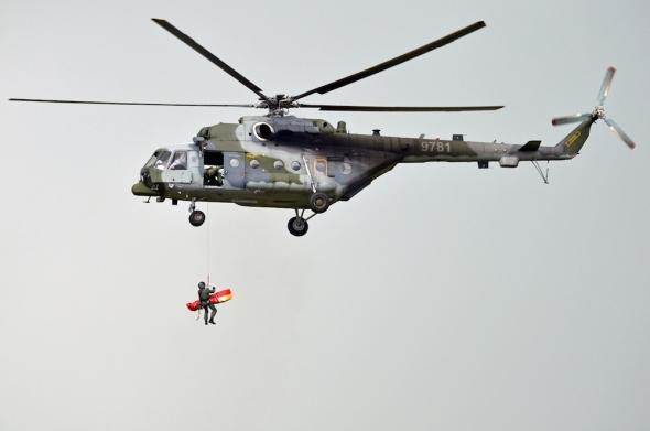 Helicopter Show 2017 Mil Mi 171 armáda čr