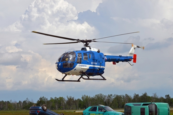 Helicopter Show 2017 vrtulník MBB Bo 105