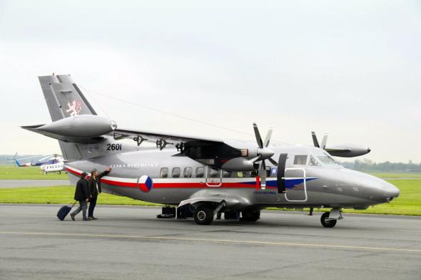 L 410 Vzdušných sil Armády ČR 24 zDL Praha Kbely