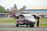 Let L 410 UVP-E20 trupové čísl0 2601 na základně Praha Kbely