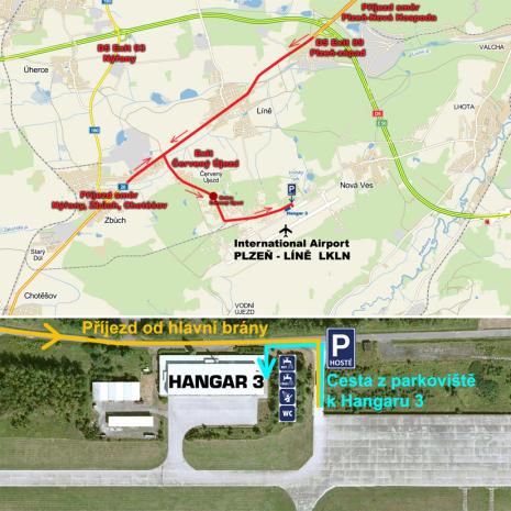 Příjezd do Hangáru 3