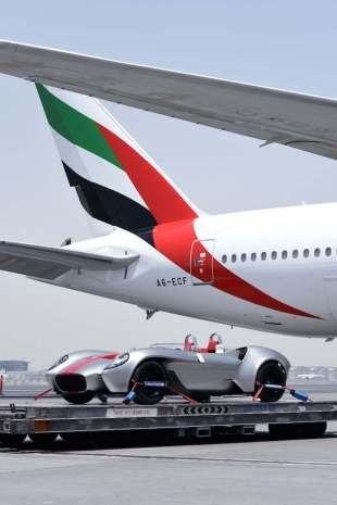 Jannarelly Design Sky Cargo Emirates