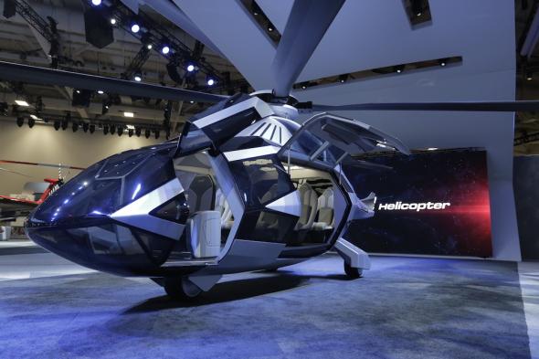 vrtulník Bell FCX 001