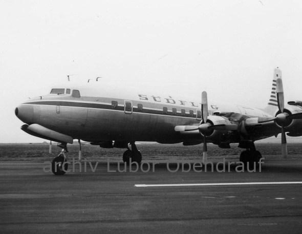 Douglas DC 7 SUDFLUG