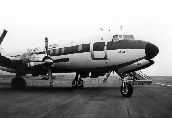 Douglas DC Transair Sweden