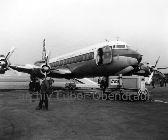 Douglas Martinair Prague 1967