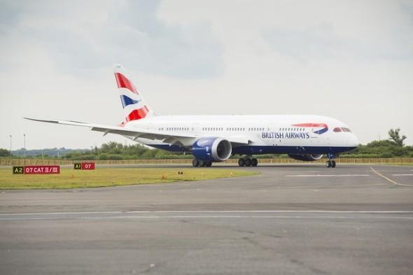 British Airways Boeing B 787 Dreamliner