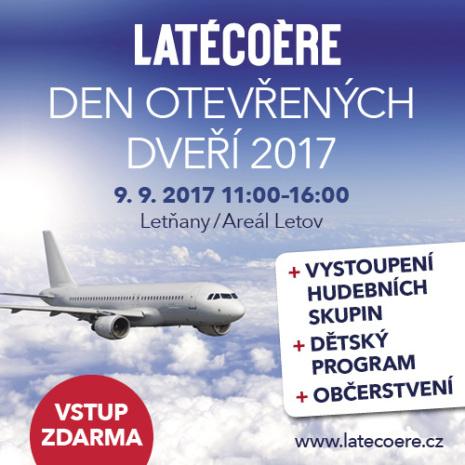 Latecoere den otevřených dveří Praha 2017