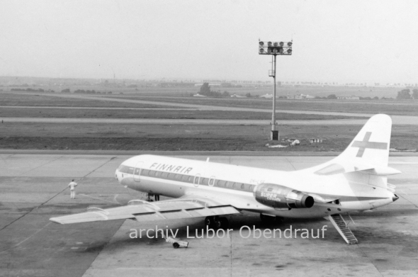 FinnAir Caravelle Prague