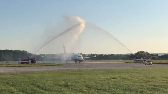 Uvítání Boeingu v Pardubicích