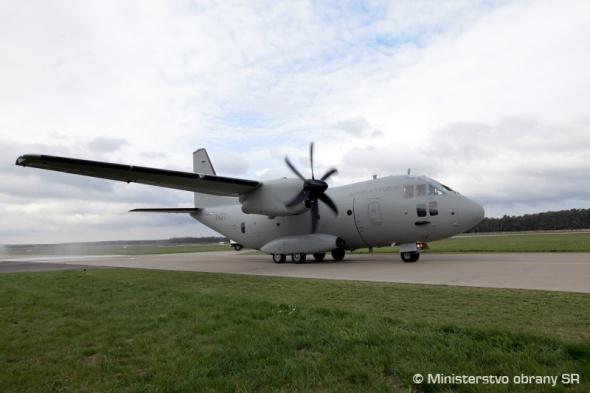 Spartan C 27J Slovenské vzdušné síly