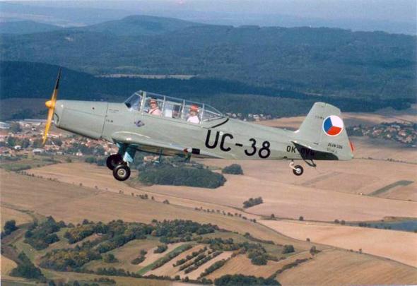 Z-126_OK-DVG aeroklub Příbram