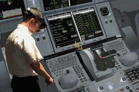 Airbus HoloLens pro JAL