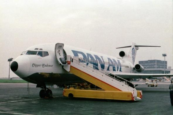 Boeing B727 Pan Am Prague last flight