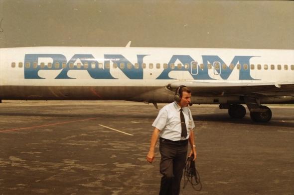 Pan Am Boeing 727 Prague