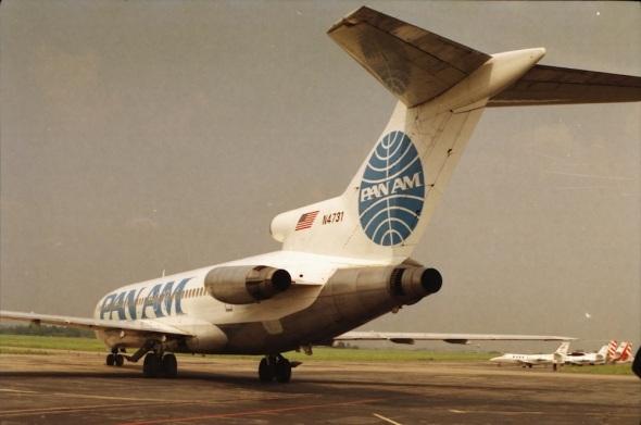 Pan Am Boeing 727 Prague last flight
