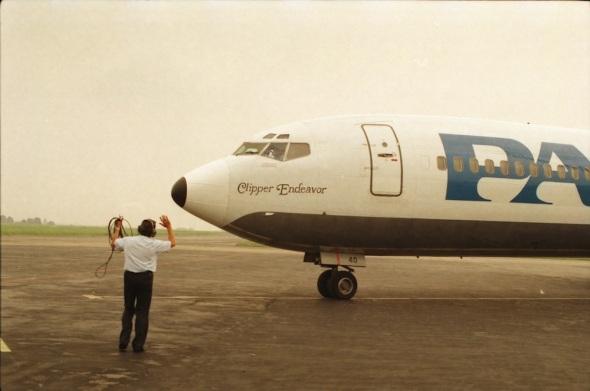Pan Am Boeing 727 poslední let Praha