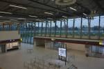 Terminál letiště Pardubice před dokončením interiér