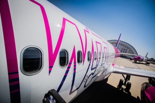 Wizz Air Airbus A320 nové zbarvení