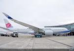 Airbus A350 WB China Airlines před předávacím letem