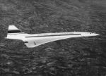 První prototyp Concorde nedaleko Marseille