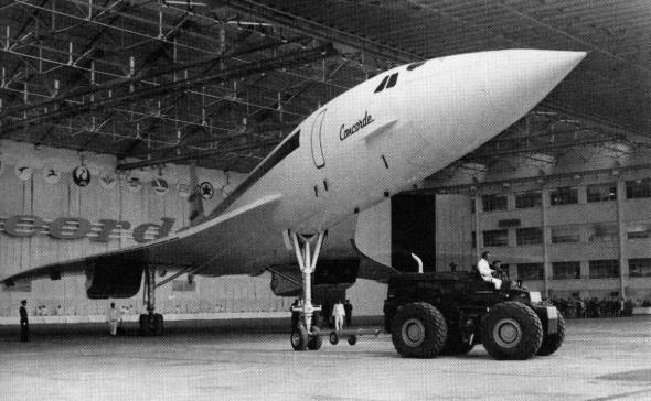 První prototyp Concorde s číslem 001 je představen veřejnosti