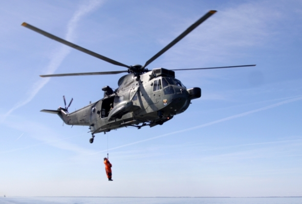 vrtulník Sea King BundesMarine