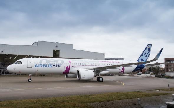 Airbus dokončil první letoun A321neo s úpravou ACF