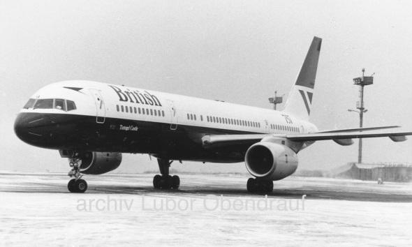 Boeing B757 BA LKPR 1985