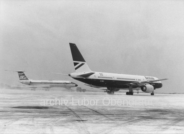 Boeing B757 BA in PRG