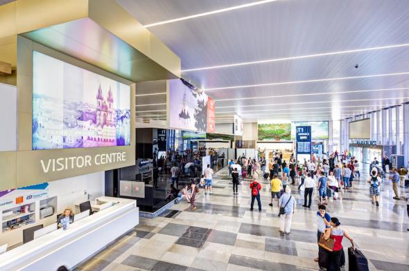Letiště Praha Ruzyně terminál 1
