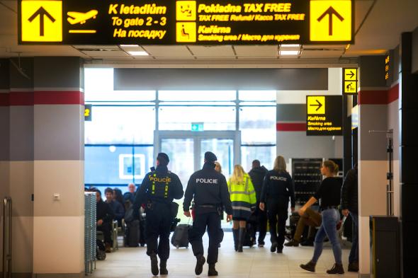 první odlet z nového terminálu letiště Pardubice úterý 31 2 2018
