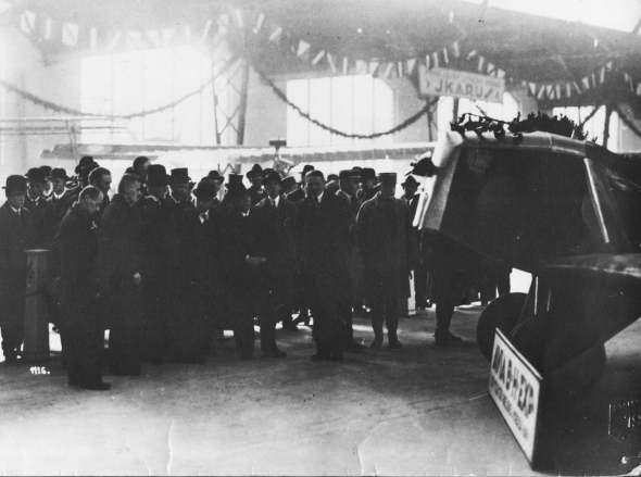 Avia_B.H.1 a President T.G.Masaryk