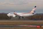 Boeing 737 MAX 8 Travel Service první přistání letiště Praha