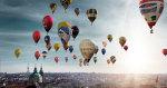 balóny nad Prahou