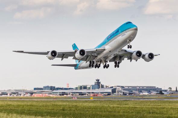Boeing 747 Korean Air Letiště Praha