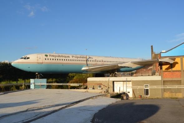 B707 na střeše
