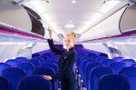 Wizz Air Airbus A321 interier GEVEN