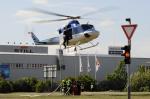 Bell 412EP OK BYP požár Hostivař 2018