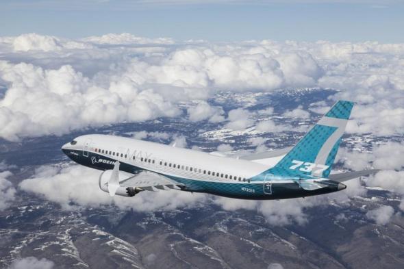 Boeing 737 MAX 7 první let