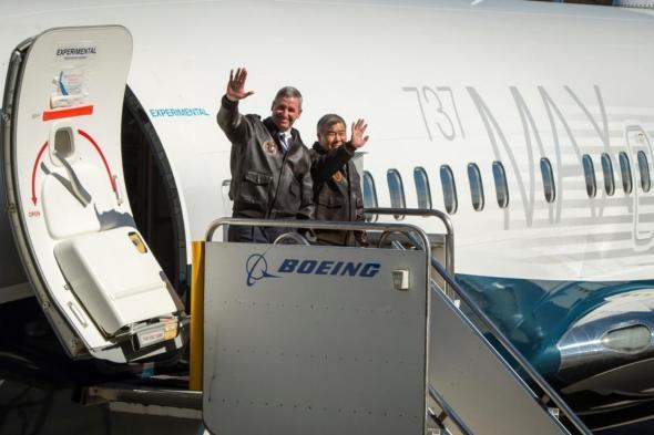 Boeing 737 MAX 7 testovací piloti