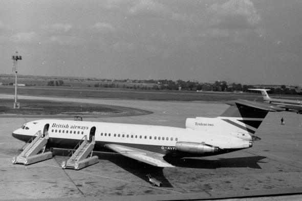 BritishAirways-Trident2-G-AVFE