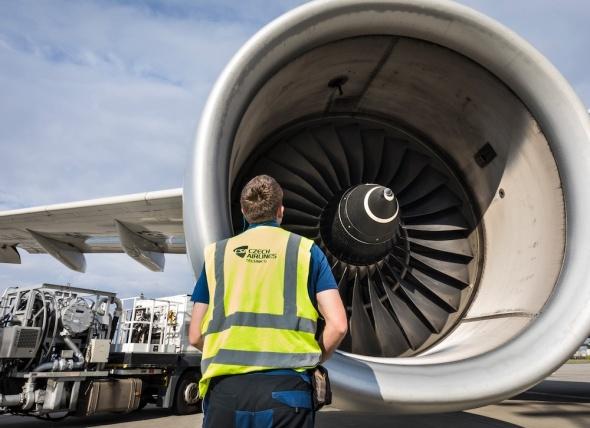 CSAT údržba letadla
