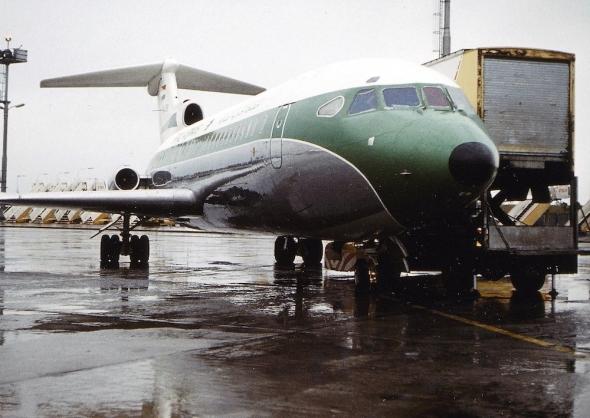Iraqi Airways Trident v Praze