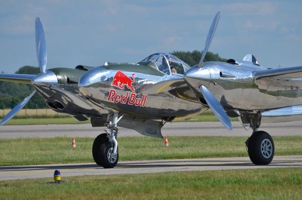 P 38 Lightning Aviatická pouť 2018