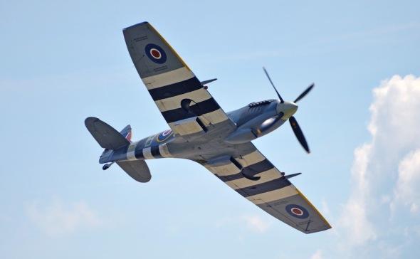 Supermarine Spitfire Aviatická pouť 2018