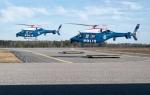 vrtulník Bell 429 Švédská policie
