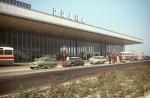 1968 terminál nové letiště Praha Ruzyně